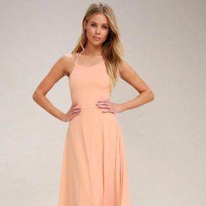 🌸 Beautiful Blush Maxi Dress 🌸